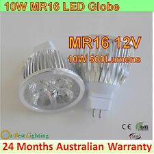 10W GU10 240V, MR16 12V LED Light Bulb Energy Saving Globe-Warm or Cool White