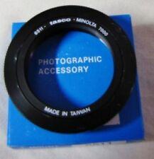 Minolta camera 7000 Autofocus Bayonet Mount T Ring DSLR SLR SONY ALPHA