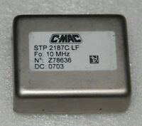 C-MAC STP2187 10 Mhz Double Oven OCXO Oscillator  Sine wave +12V EFC