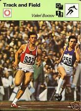 VALERI BORZOV 1977 FOCUS ON SPORTS CARD