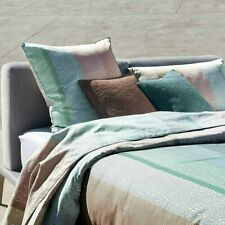 CONTEMPORARY BROAD-STRIPED FLAT SHEET PACIFIC BY HUGO BOSS COTTON SATEEN