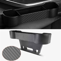 Universal Car Truck Seat Gap Storage Pocket Organizer Holders Carbon Fiber Style