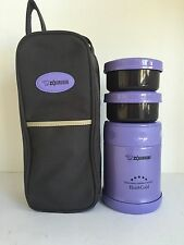 Zojirushi SW-EXE35-VC Stainless Steel Food Jar 350ml / 0.35L - Violet