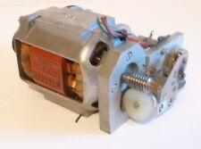 Motor 220 Volt mit Schnecken - Getriebe und Keilriemen f. Modellbau