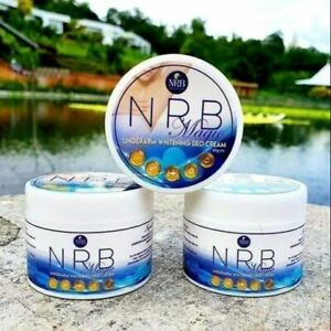 3 x NRB Magic Underarm Whitening Deo Cream 40 g. Authentic