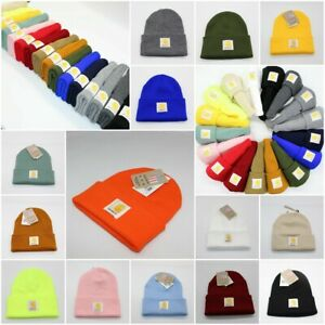 Acrylic A18 Warm Carhartt Winter Womens Cap Hat Beanie Watch Mens Gifts UK Hat