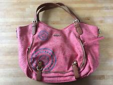 Schöne DESIGUAL Handtasche in sommerlichem Rose - Top Zustand