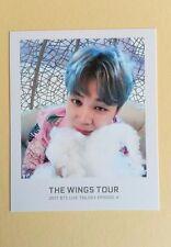 2017 Bangtan Boys BTS THE WINGS TOUR Official Ticket Album Photocard Set ( 7pvs)
