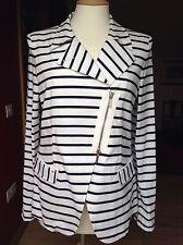 Armani Jeans Nautical Cotton Jacket UK 10-12 EU 44 Pristine