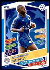 Match Attax Champions League 16/17 Nampalys Mendy Leicester City No. LEI9