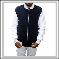 Men's Baby Driver Ansel Elgort Baby Fleece Varsity Jacket   All Sizes 2XS To 3XL