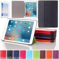 "Edle Smart Cover Apple iPad 5.Gen 6.Gen (9.7"") Schutz Hülle+Folie Tasche Case 8F"