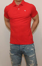 NWT Abercrombie & Fitch by Hollister Mens Polo T Shirt Muscle Fit Tee