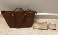 Michael Kors Jet Set Tote with Clutch & Wallet