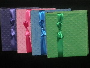 Hand-Made Same-Sex, Traditional, and Single Parent Baby Memory Book