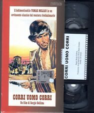 Corri uomo Corri (1968) VHS Nocturno Video  Tomas MILIAN Sergio Sollima CULT