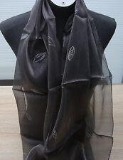 Sehr schönes Tuch/ Schal in anthrazit - silbergrau neu