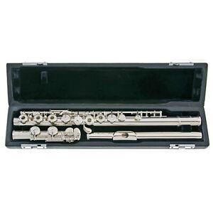 Sankyo Model 201 Flute | C-Foot | Open Holes | E-Mechanism | Offset G