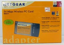 NETGEAR 54 Mbps Wireless PC Card Adapter NOS