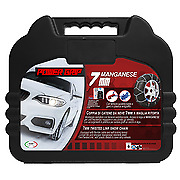Snow Chains Power Grip 7mm Unit 90 For Tyres 205/55r16 Toyota GT86