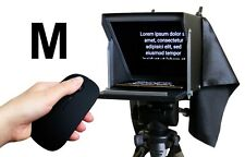 Teleprompter Black Fish M. Compact prompter 10'' for iPhone and Smartphone