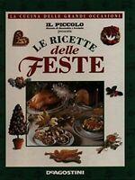 Le ricette delle feste de agostini  1996