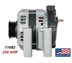 250 Amp 11682 Alternator Buick Cadillac Chevrolet GMC High Output Performance HD