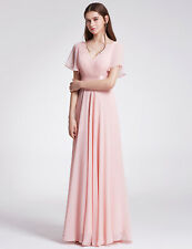 Ever-Pretty Chiffon Bridesmaid Dress Maxi Length Formal Party Prom Evening 09890