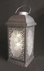 Luxa Star Lantern- Moroccan Style lantern in Grey