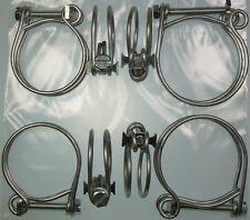 Classic Lotus Elan Radiator Hose Clip Set Double Wired New