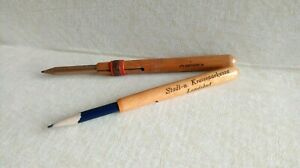 Lot of 2 pencil-lengtheners from Faber and Bank advertisement -  Germany