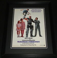 Suburban Commando 1991 11x14 Framed ORIGINAL Advertisement