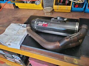 Jardine RT5 Carbon S/S Slip on Exhaust Muffler Buell 1125R / CR