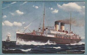 L.& N.W.Ry. .. ss SCOTIA (1902-1920) .. running between Holyhead - Dublin