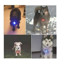 Waterproof SpotLite Cat/dog Collar Light,LED Pet Safety Light Luminous Pendant