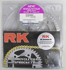 RK HONDA 125 CR CHAIN & SPROCKET KIT GOLD CHAIN 2000 2001 2002 2003