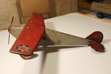 BIG-1920S-STEELCRAFT ARMY SCOUT-airplane-PRESSED STEEL