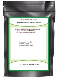 African Mango  ( Irvingia Gabonensis )  extract Powder Pure and Premium quality