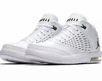 Men's Nike Jordan Flight Origin Basketball shoes WHT/BLK 921196 100 Size 8 & 8.5