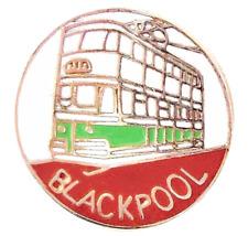 Blackpool To Fleetwood Electric Tram Car Pin Badge