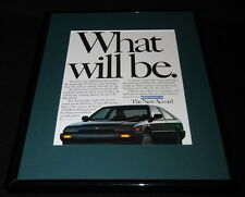 1985 Honda Accord 11x14 Framed ORIGINAL Vintage Advertisement