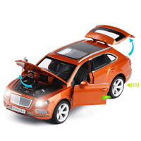 Bentley Bentayga SUV 1:34 Diecast Model Car Toy Collection Light&Sound Gift