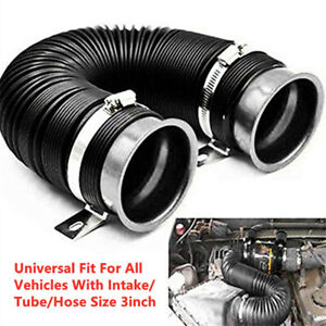 Car Turbo Cold Air Intake System for Vehicles With Intake/Tube/Hose Size 3 inch