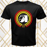 Studio 54 Music Production House Logo Men's Black T-Shirt Size S - 3XL