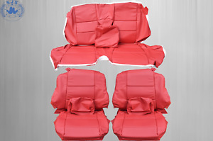 Seat Covers Suitable For BMW 3er-Reihe E46 Cabriolet, Red New