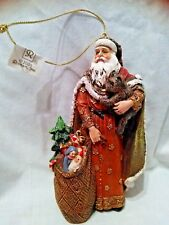 "New - 2005 Roman Inc. - Christmas Wishes - Santa Collection - ""Gift Giver"""