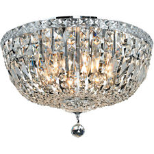 FRENCH EMPIRE FLUSH MOUNT ASFOUR CRYSTALS CHANDELIERS LIVING DINING ROOM BEDROOM