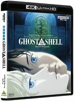 Ghost in the Shell Shell 4K Ultra HD Blu-ray Japanese Animation