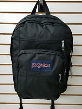 JanSport BIG STUDENT Classic Black 100% Authentic Jansport Backpack