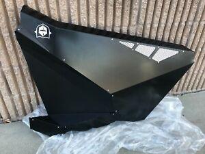 PRO ARMOR Aluminum PASSENGER Door Black Polaris RZR Pro XP 2020+ 1 DOOR ONLY